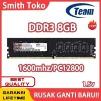 RAM Team Memori GAMING LONGDIMM DDR3 8GB PC 12800 RAm