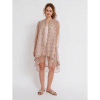 ATELIER MODE Cocktail Dress Eden Worn as Outer Embroidered Tulle