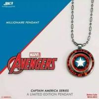 Kalung Pendant Marvel Avengers (Captain America) MCI ORI