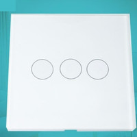 Smart Light Switch Touch Wallswitch Saklar Lampu Wifi BARDI EU 3 Gang