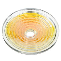 Dahlia Spin Bio Disc 4 Energizes Water Quantum Scalar Harmonize Power