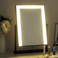 Dahlia Led Vanity Touch Screen Makeup Mirrors Vanity Magnifying Lights