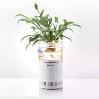 Dahlia AUGIENB HEPA Desktop Ionizer Air Purifier Aquarium Filter for S