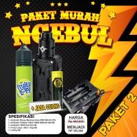 PAKET NGEBUL MURAH Authentic Rincoe Mechman Nano 90W RDA Kit