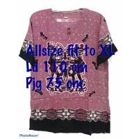 NEW PROMO Tshirt Bali Wayang Asmat Motif Random