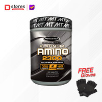 Muscletech Platinum Amino 2300 320tab Bstores