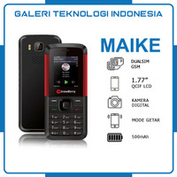STRAWBERRY ST368 MAIKE / Handphone Candybar / HP Kamera Murah