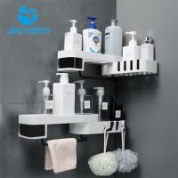 Rak Sabun Shampoo Rak Toilet Kamar Mandi Rak Tempel Dinding Sudut Rak