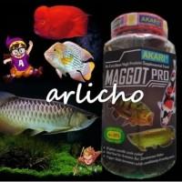 Ulat Kering Akari Maggot Pro Pakan Ikan