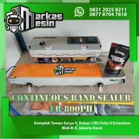 Continuous Band Sealer Mesin Segel Plastik FR-800PH HEAVYPACK