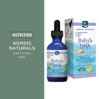 Nordic Naturals Baby's DHA 60ml Omega 3 Vitamin D3