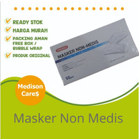 masker NON MEDIS onemed original earloop 3 ply per box