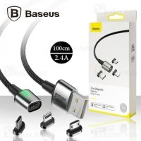 BASEUS ZINC MAGNETIC CABLE MICRO USB DATA FAST CHARGING QUICK CHARGER