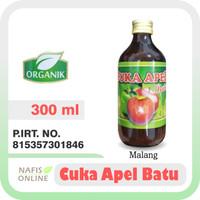 CUKA APEL BATU 300ML   Cuka Apel Murni Original Malang