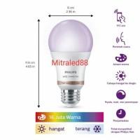 PHILIPS SMART WIFI LED bulb a60 9w/9watt Tunable Full warna(Wiz)