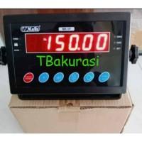 Indicator jembatan timbang / display 6digit 2 RS232/ indicator MK - 5P