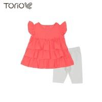 Torio Summer Style Outwear Set - Baju Setelan Bayi Perempuan