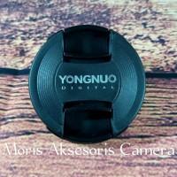 Tutup lensa Yongnuo lenscap Yongnuo lens cap tutup depan lensa Yungno