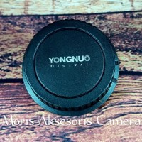 Tutup lensa Yongnuo rear cap Yongnuo rearcap tutup belakang yungno