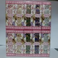 Souvenir Tatakan Gelas Kemas Box