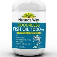 natures way-natured way odourless fish oil 1000mg-200 softgel