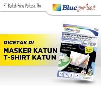 Kertas Transfer / Transfer Paper Dark BLUEPRINT A3 - Tshirt Katun