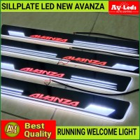 SILL PLATE SillPlate ALL NEW AVANZA WELCOME LIGHT (Audi Style)