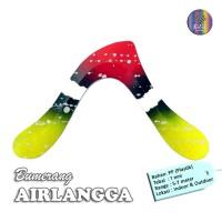 Bumerang Boomerang AIRLANGGA Mainan Anak Edukati Tradisional Sport Fun