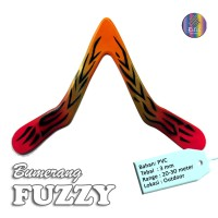 Mainan Bumerang Boomerang FUZZY Outdoor Long Range Sport Fun