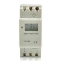 Digital LCD DIN Programmable Mingguan Rail Timer AC 220V 16A Switch