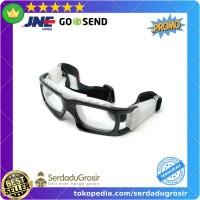 Kacamata Tenis Sepeda Olahraga Sport Frame Glasses Lensa Polarized ORI