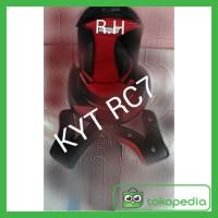 BUSA KYT RC7 RC SEVEN FULLSET KWALITAS ORIGINAL HELM RC 7 RCSEVEN
