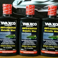 Waxco Anti Scratch Metallic Wax Kilap 6 Bulan Anti Gores 200ml pa