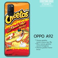 Casing Custom OPPO A92 flaming hot cheetos W9720