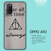 Casing Custom OPPO A92 Fancy Harry Potter Love Quotes S0195