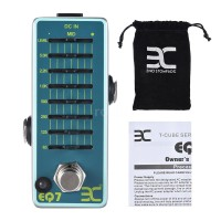 ENO EX eq7 Pedal Efek Gitar Equalizer 7 Band EQ Full Metal