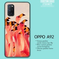 Casing Custom OPPO A92 Flamingos Partying Pattern E1157