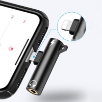 Kabel Adapter Splitter Konverter Audio Dual Konektor Untuk Iphone 7