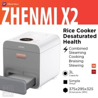 Zhenmi X2 Rice Cooker Desaturated Health 3L