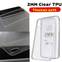JELLY CASE SAMSUNG M10 SOFTCASE SILIKON ULTRATHIN 2MM BENING - CLEAR