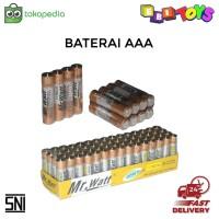 Baterai AAA ABC Alkaline untuk Mainan dan Kebutuhan Rumah Tangga