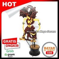 Miniatur Wayang Klitik Wayang Kayu Klithik Raden Gatotkaca T25