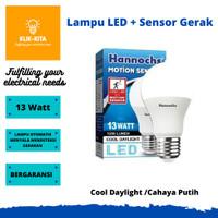 Lampu LED Sensor Gerak Hannochs Motion Sensor 13 Watt