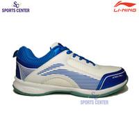 New Color Sepatu Badminton Lining Attack Pro II AYTQ076 White / Blue