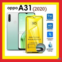 OPPO A31 2020 6.5 INCH ANTI GORES TEMPERED GLASS FULL BLACK 910597