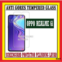 OPPO REALME 6i 6.5 INCH ANTI GORES TEMPERED GLASS KACA BENING 910531