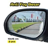 Anti Fog (Anti Embun) Spion Mobil - Ukuran Besar 10x15 cm