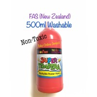500ml Cat Washable Poster Paint Non Toxic Super Tempera FAS ATK1031FS