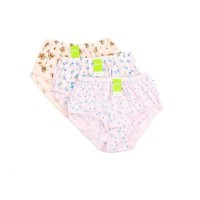 CD / Celana Dalam Sablon Wanita Full Motif Bunga Bahan Adem Yutind SY