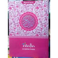 [A5] Al Quran AZALIA Tajwid Terjemahan - Quran Rainbow A5